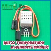 Dht22 Temperature & Humidity Module Suhu Dan Kelembaban