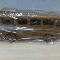 harga Miniatur Bus/Bis Adventure Kayu Jati Tokopedia.com
