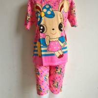 Baju Tidur (Piyama) Katun - Cute Rabbit