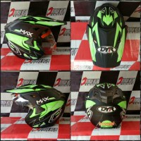 harga Helm trail DYR black green Tokopedia.com
