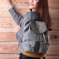 tas wanita ransel gendong punggung / backpack /tas kuliah & main inf.