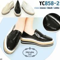 SEPATU PRADA DOUBLE SOLL YC858-2