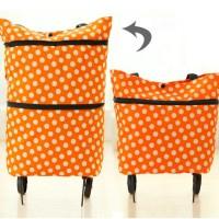 Jual Shopping Trolley Bag 092 ( Tas belanja Trolly Bisa di lipat ) Murah