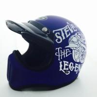 Helm Cakil Steve The Legend Biru / Helm Cakil HBC Helm Cakil SNI