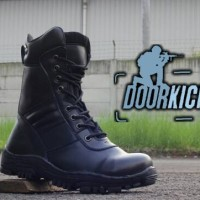 Jual sepatu boots pdl kickers safety + safety shoes pdl resleting Murah