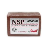 NSP Chavant Medium Clay (Brown)