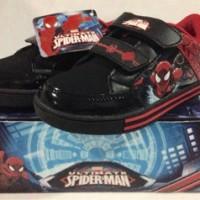 Sepatu anak Spiderman - Marvel amazingh spider - Black red (Sz.28-33)