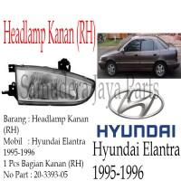 harga HEADLAMP HYUNDAI ELANTRA 1995-1996 RH Tokopedia.com