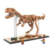 Lego Nano Block Loz Creator Tyrannosaurus Rex Dinosaurus Fossil 9023