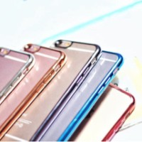 METAL JELLY CASE FOR IPHONE 4/4s 5/5s/SE 6/6s 6+/ 6s+ GRAND PRIME