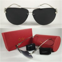 Sunglass Carti** Fox - Black