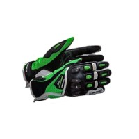 GLOVES RS TAICHI LEATHER MESH GRN