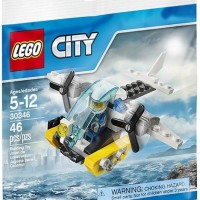 LEGO City - 30346 Prison Island Helicopter Police Pilot Plane Polybag
