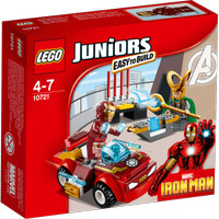 LEGO Juniors - 10721 Iron Man vs Loki Set Avengers Marvel Super Heroes