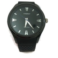 Vinergy Rubber Watch Circle - Water Resistant -Black