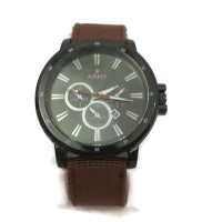 Swiss Army Canvass Watch Circle- Brown