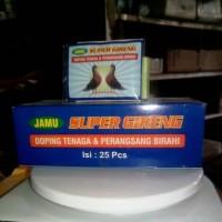 Penambah Birahi dan Doping Tenaga Burung Merpati Balap SUPER GIRENG