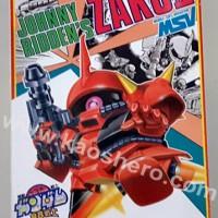 Bandai BB 29 zaku II johnny ridden (1989)