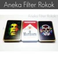 Jual Kotak Rokok + Korek Elektrik USB Murah