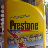 PRESTONE Antifreeze Radiator COOLANT RED - 3.78 ltr - 100% ORIGINAL