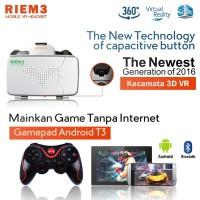 Riem 3 - Vr Box Cardboard - Gamepad Android Terios T3