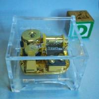 Jual music box acrylic Murah