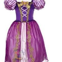 Baju Anak Dress Anak Rapunzell Kostum Anak Wanita Baju Princess