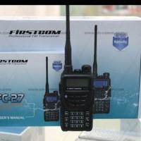 Jual HT Firstcom FC 27 ( Dual Band ) Waterproof Baru | Radio Komunik