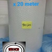 Jual Bubble Wrap 40 cm x 20 meter Murah