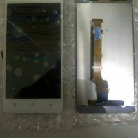 lcd oppo R819/find mirror +touchscreen putih