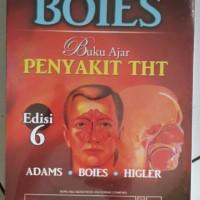 BOIES Buku ajar Penyakit THT ed.6