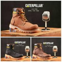 Sepatu Boots Pria Caterpillar Snoder Steel Toe