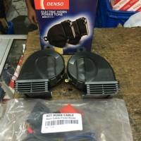 klakson denso new model waterproof & bonus relay set