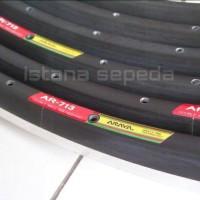 harga New Rims Velg Roadbike / Fixie Araya AR-713 Hitam 700c Lubang 32 Murah Tokopedia.com