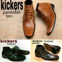 sepatu pantofel formal kerja dinas pria kickers