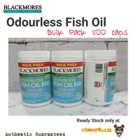 Blackmores Odourless Fish Oil 1000 - 500 capsule