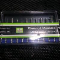 Mata Mini Grinder / Bor / Engraver Diamond Set Isi 10 (Bisa Untuk Emmc)