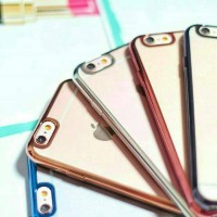 Metal Jelly Case for Iphone 4/4s/5/5s/6/6s/6+/6s+/SE, Grand Prime