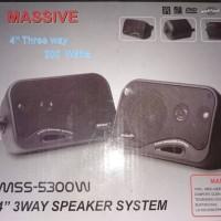 Speaker Passive Massive 4 inch / Speaker Pasif / Audio Mobil