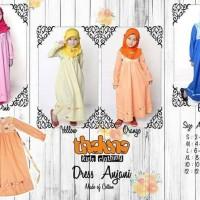 Dress Anjani Thaluna Kids/Baju Muslim Anak Perempuan