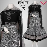 baju muslim big size lebaran terbaru 2016 B.gamis jumbo modern 3L