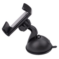 Lazy Tripod Car Mount Holder for Smartphone - WF-219 - Black