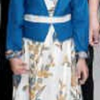 Gamis Long Maxi Dress Baju Muslim Anak Perempuan Batik 1606