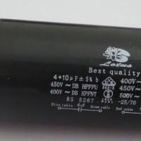 harga Capasitor 4 + 10 Lotus/runing Capasitor/capasitor Mesin Cuci/kapasitor Tokopedia.com