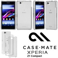 Sony Xperia Z1 Compact D5503 Case-mate Naked Tough Armor Case Casing