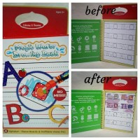 harga Magic Aqua Water Doodle Book Tema ABC Tokopedia.com