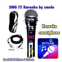 Murah !!! Mic Kabel Sky Sing Smule Karaoke Smarphone Langsung