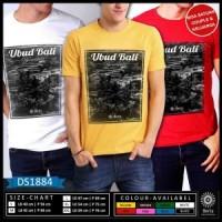 Ds1884 T-Shirt Baju Travelling Ubud Bali Beautiful