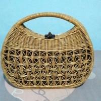 Jual Tas Kerajinan Jogja Asli : Tas Rotan , Tas Bambu Handmade Murah
