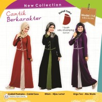 harga Baju Muslimah Gamis Bahan Kaos Murah Original MUTIF - Model 114 Tokopedia.com